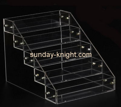 Customize clear tabletop tiered display stand ODK-364