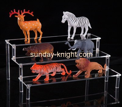 Customize acrylic tiered display stand ODK-376