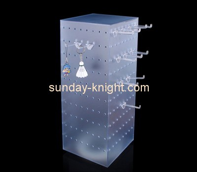 Customize lucite display rack for hanging items ODK-415