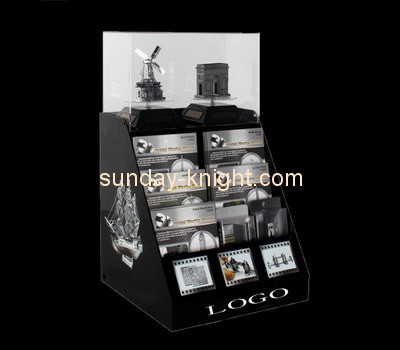 Customize lucite tiered retail display ODK-426