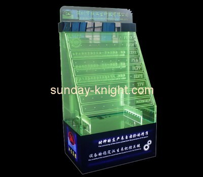 Customize shop acrylic tiered display ODK-425