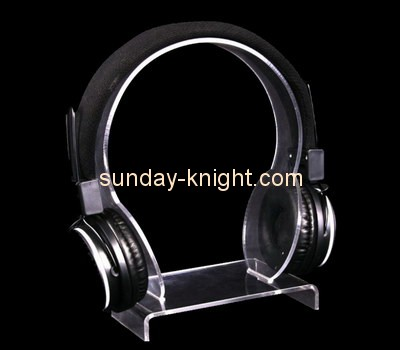 Customize acrylic desk headphone stand ODK-435