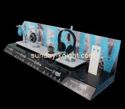 Customize acrylic headphone stand for sale ODK-450