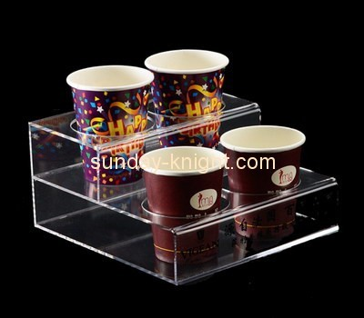 Customize acrylic paper cup holder ODK-462