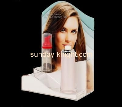 Customize lucite makeup counter display ODK-626