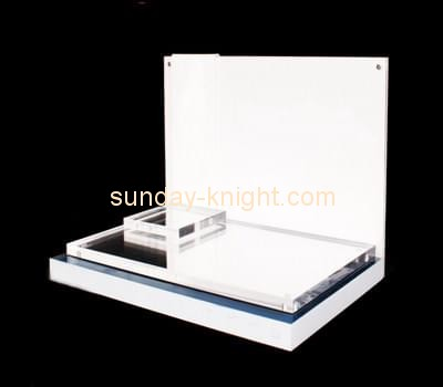 Customize perspex makeup counter display ODK-627