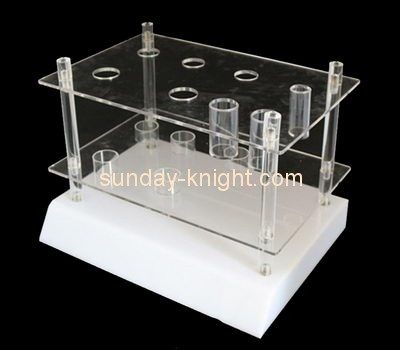 Customize acrylic commercial retail display shelving ODK-810
