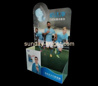 Customize plexiglass display stands for retail shops ODK-812