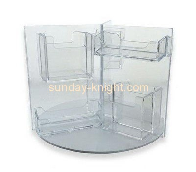 Customize lucite multiple brochure holder BHK-541