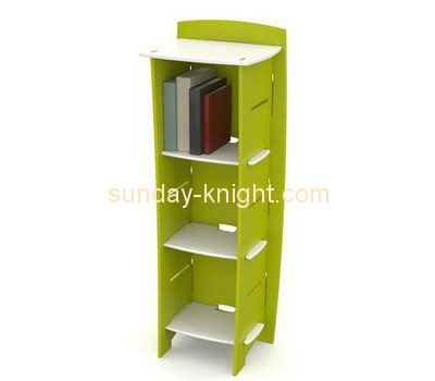 Customize acrylic stand up book holder BHK-628