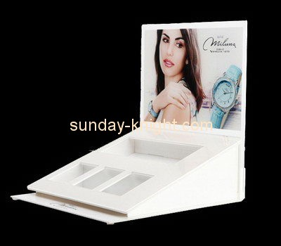 Customize retail acrylic watch display JDK-509