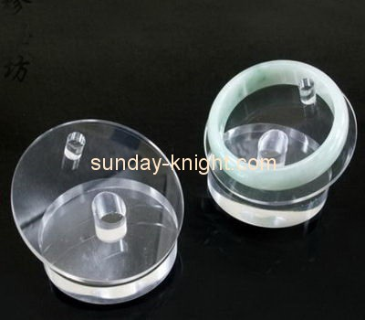 Customize acrylic cheap bangle stand JDK-546