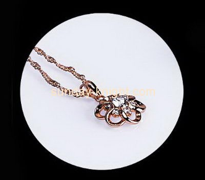Customize acrylic cute necklace holder JDK-560