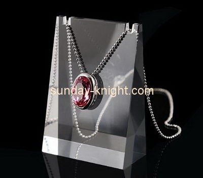 Customize acrylic necklace display stand JDK-561