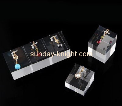 Customize acrylic ring and earring holder JDK-653
