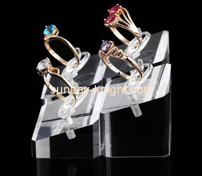 Customize lucite jewelry ring holder JDK-668