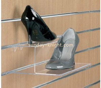 Acrylic shoe display stand on wall SSK-004