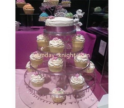Five layers acrylic cupcake display stands FSK-011