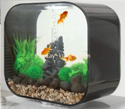 Transparent and black acrylic fish aquarium FTK-016