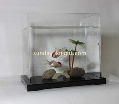 Transparent lucite square fish tank  FTK-018