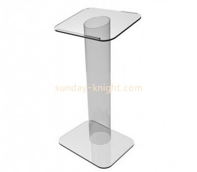 Fashion design acrylic church rostrum podium desk modern lectern AFK-042