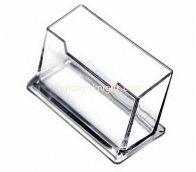 Customized acrylic brochure holder desktop business card holder name card holder BHK-045