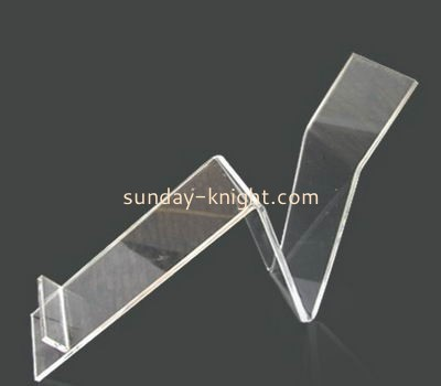 Factory direct wholesale acrylic shoe display stand acrylic display stand retail display rack SSK-023