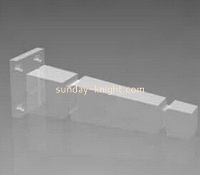 Customized acrylic lucite furniture legs smart table leg for glass table AFK-068
