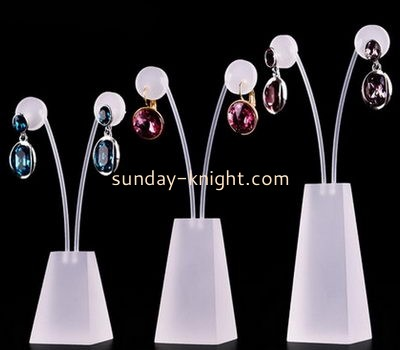 Wholesale acrylic earring display stands display jewelry retail stands JDK-061