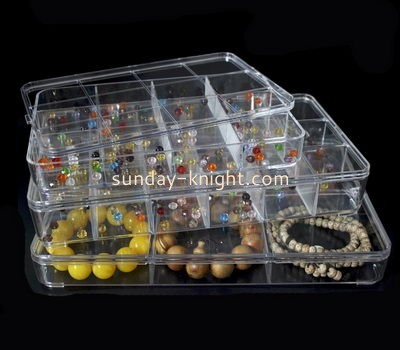 Custom acrylic table display jewelry box bracelet organizer JDK-152