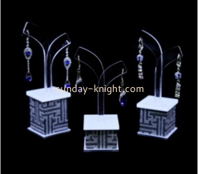 Custom acrylic earring display stands acrylic jewellery stand store display JDK-193