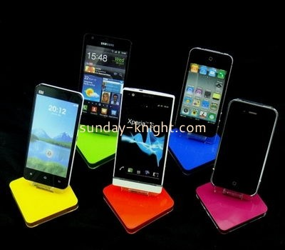 Acrylic display manufacturers customized acrylic cell phone holder for desk CPK-106