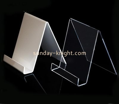 Acrylic manufacturers customized smartphone holder stand for cell phone CPK-112