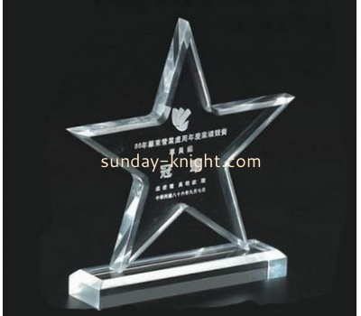 Display manufacturers custom made acrylic plaques trophy ATK-033
