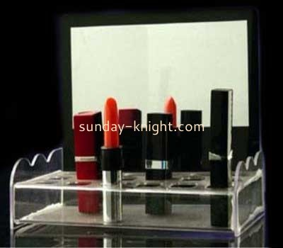 Acrylic lipstick display stand with 18 holders MDK-008