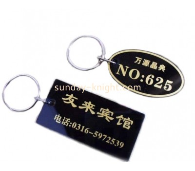 Acrylic key chain for hotel ODK-018
