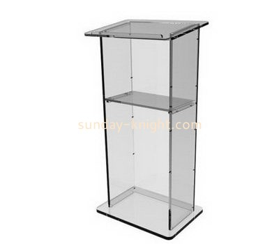 Bespoke clear acrylic lecterns and podiums AFK-183