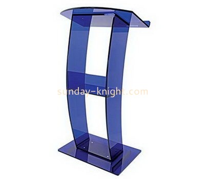 Bespoke clear acrylic speech podium AP-192