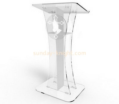 Bespoke clear acrylic church podiums for sale AP-191