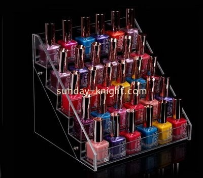 Customize lucite nail polish display holder MDK-400