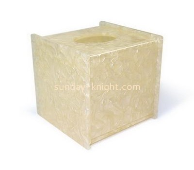 Customize acrylic napkin box cover DBK-883