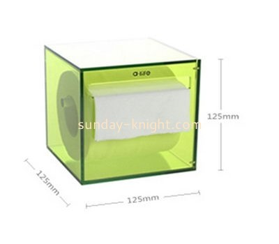 Customize blue tissue box cover DBK-890