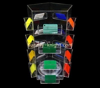 Customize lucite shelf display unit ODK-522