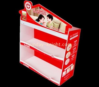 Customize lucite counter display stand ODK-527