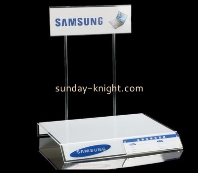 Customize plexiglass counter display stand ODK-573