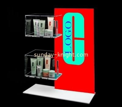 Customize acrylic beauty display stands ODK-586