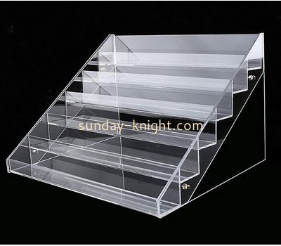 Customize acrylic makeup rack display ODK-691