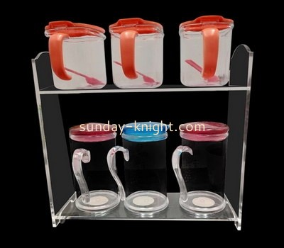 Customize perspex product display rack ODK-714