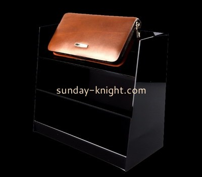 Customize acrylic wallet display stand ODK-720
