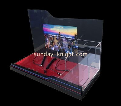Customize plexiglass table top retail display ODK-782
